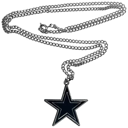 Amazon nfl dallas cowboys chain necklace sports fan nfl dallas cowboys chain necklace aloadofball