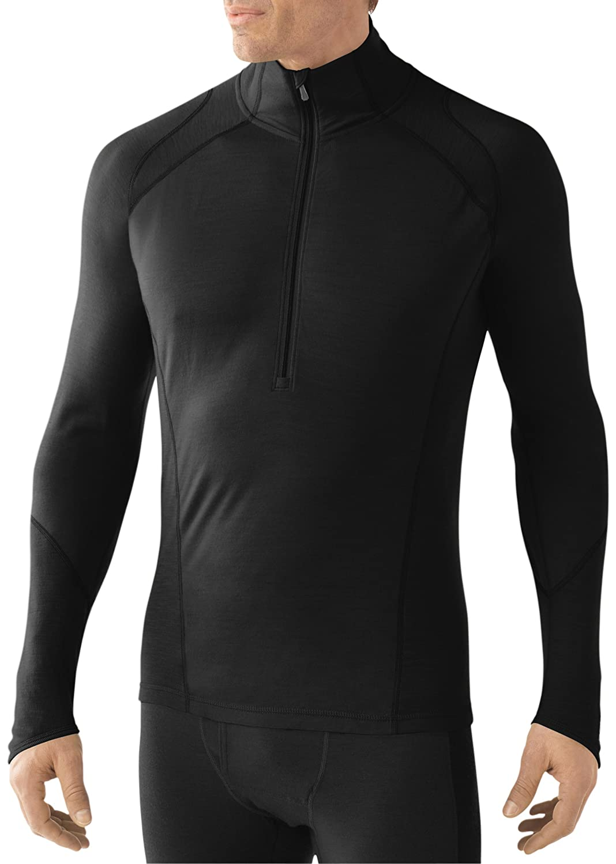 Smartwool Herren Unterhemd Shirt Langarm Men's NTS Light 195 Zip T