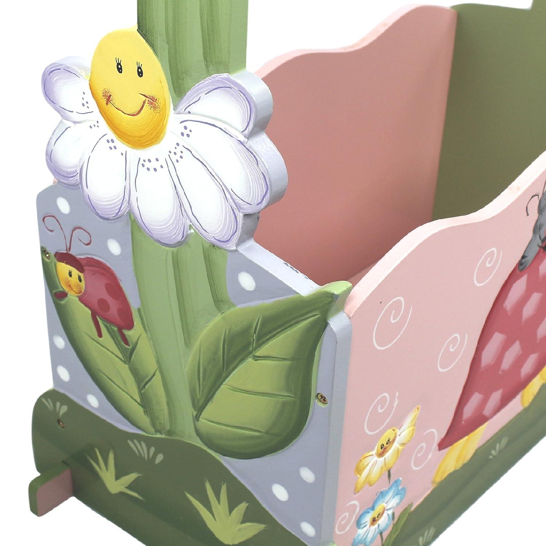 Fantasy Fields by Teamson Magic Garden Cremagliera per Abbigliamento con 4 Appendini Multicolore