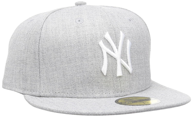 New Era Era - MLB BASIC NEYYAN HEATHER GREY/WHITE, Baseball beretto da uomo 11044974