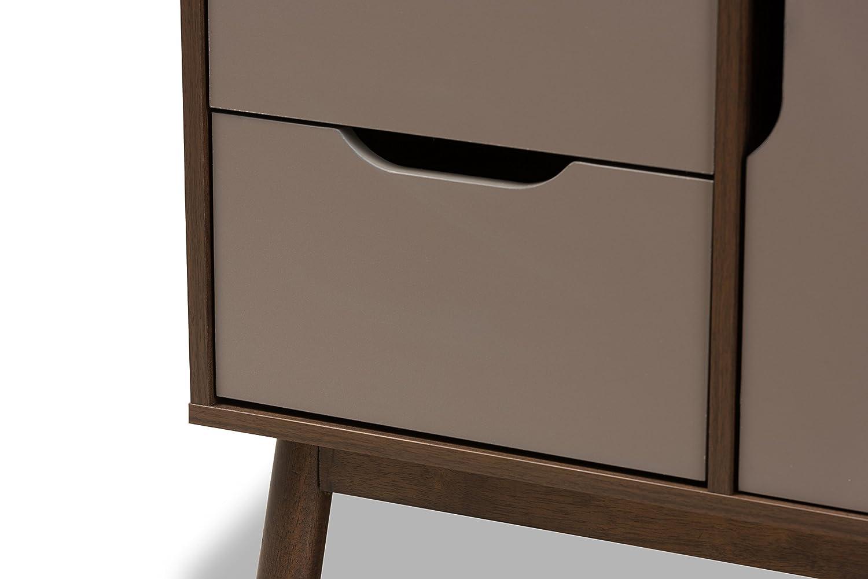 Baxton Studio Bethel Two-Tone Finished Wood Sideboard