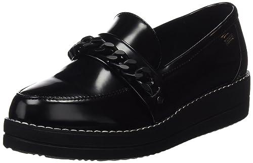 MTNG Camila, Mocasines Mujer, Negro (Antik Negro), 40 EU: Amazon.es: Zapatos y complementos