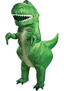 Disguise Toy Story Rex Inflatable Adult Costume