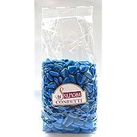 Confetti di Sulmona Mini Cuori al Cioccolato Blu - 500 gr