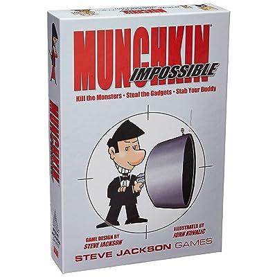 Munchkin Impossible: Jackson, Steve, Kovalic, John: Toys & Games