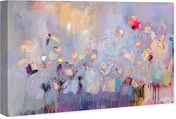 The Oliver Gal Artist Co Abstract Wall Art Canvas Prints 18366 Michaela Nessim Infinitely Divine Home Décor 30 X 20 Purple Pink Home Kitchen