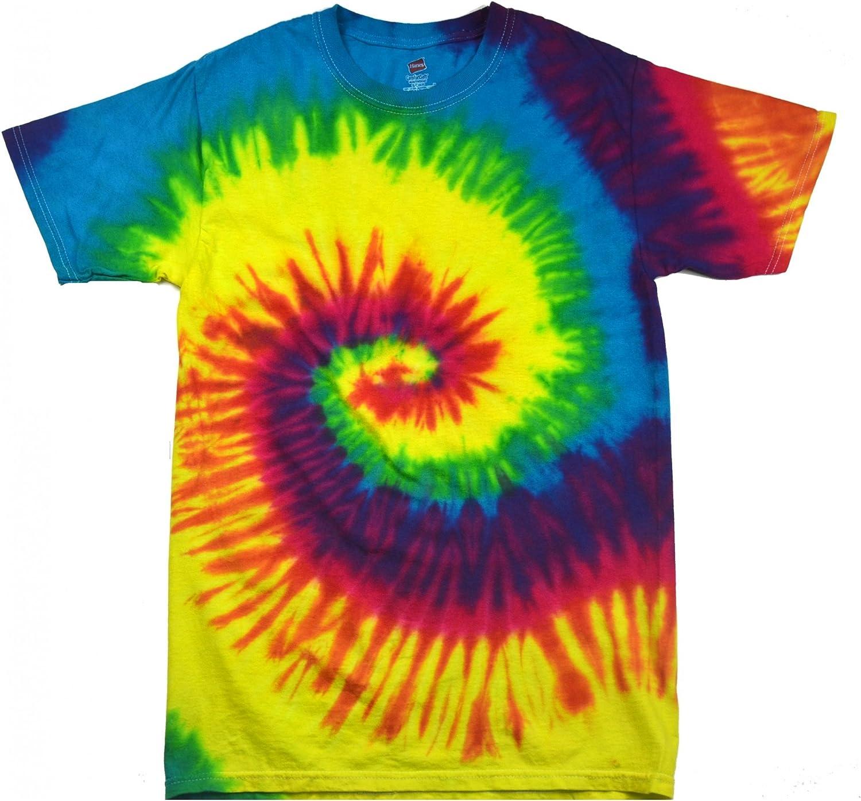 VINTAGE CALIFORNIA Tie Dye handmade Tshirt Size M