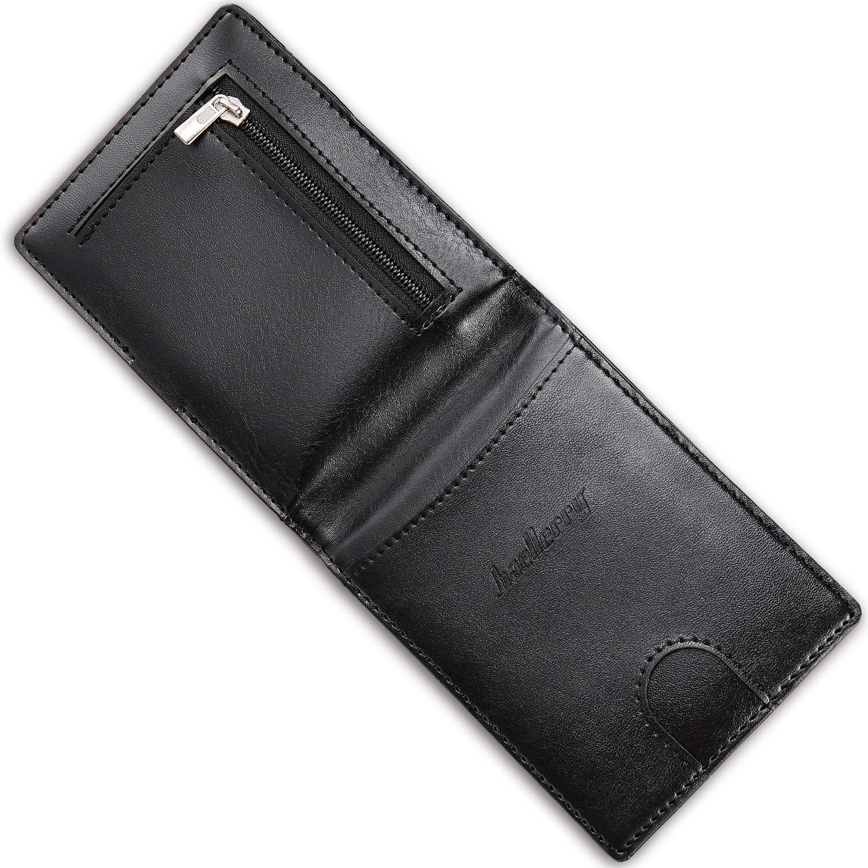 Amazon.com: Monedero con bolsillo para billetera con moneda ...