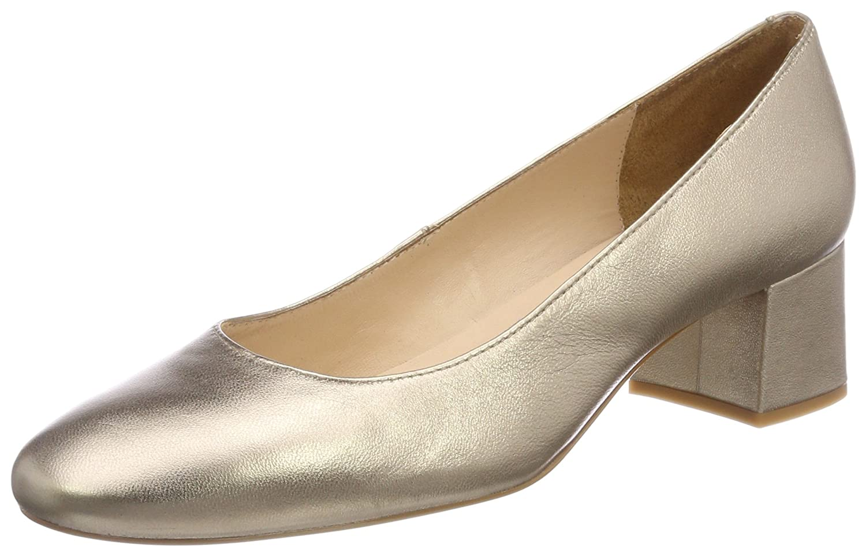 Unisa Kermes_18_lmt, Zapatos de Tacón para Mujer 36 EU|Dorado (Mumm)