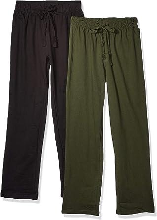 Cherokee 2-Pack Knit French Terry Lounge Pants Pantalón de Pijama, Multicolor, L para Hombre: Amazon.es: Ropa y accesorios