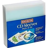 KENSINGTON(R) 62670 CD,DVD Sleeves, Pack of 50