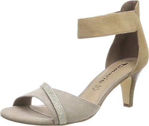 Tamaris Damen 28305 Riemchensandalen: : Schuhe