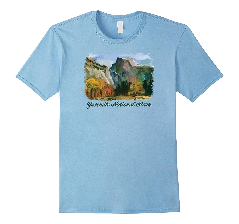 Yosemite National Park - Half Dome & Yosemite Valley T-Shirt-TH