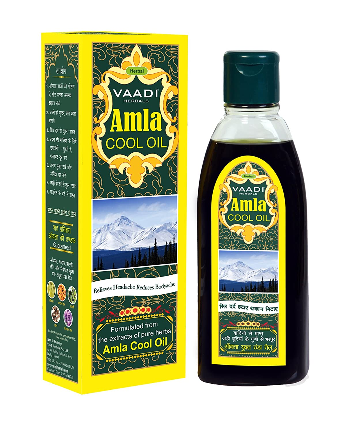 6eb6ca2144990c Amazon.com   Amla Oil - Brahmi Oil - Blend of Brahmi and Amla Herbal Oil -  Keeps the Hair Cool(Hair Oil for Hair Growth) - all Natural - Herbal  Therapeutic ...