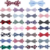Segarty Pet Bow Ties, 30 PCS Small Dogs Puppy Cats Collar Bowties, Adjustable Collar Neckties for Baby Boys Girls Holiday Festival Party Pet Grooming Accessories