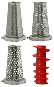Four-Piece Accessory Pack for VKP250 Food Strainer by VICTORIO VKP250-5