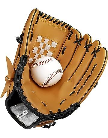 Guante de béisbol deportes guantes de bateo de receptor de la mano izquierda manta de piel