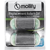 Best Mother's Day Gift - Electric Callus Remover - The Best Rechargeable Pedicure Foot File Care Shaver Tool by Mollify