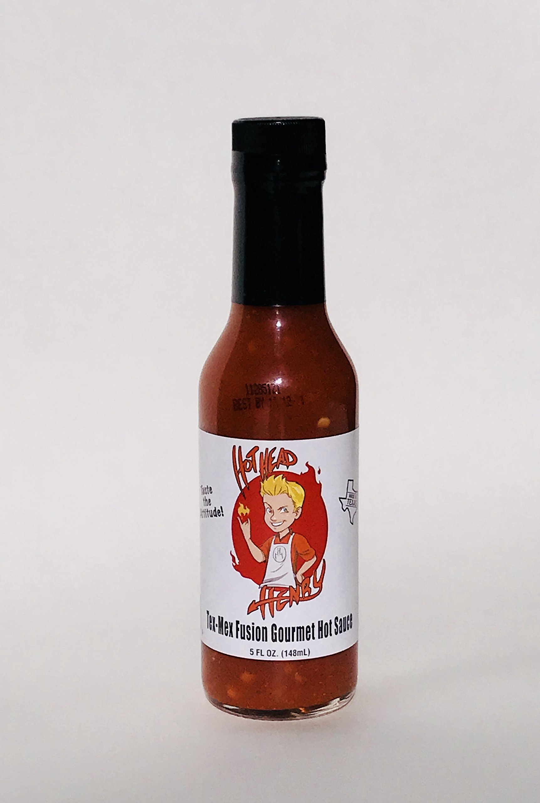 HotHead Henry Tex-Mex Fusion Gourmet Hot Sauce by HotHead Henry