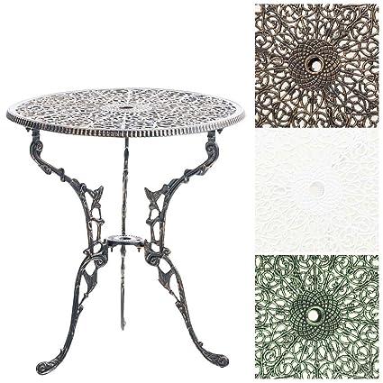 Amazon Offerte Tavoli Da Giardino.Clp Tavolo Da Giardino Divari In Alluminio Pressofuso Tavolo Da