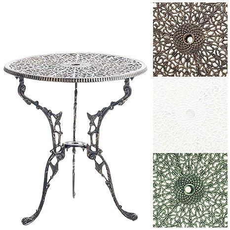 Tavoli Da Giardino In Alluminio Amazon.Clp Tavolo Da Giardino Divari In Alluminio Pressofuso Tavolo Da
