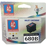 AC 680 Black ink cartridge compatible HP 2135, 3653, 3835, 4535.