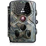 """incoSKY Game Camera Night Vision Wildlife Hunting Motion Activated 1080P 12MP No Glow IR Night Vision 66ft 120° PIR Sensor with 2.4"""" LCD Screen IP66 Waterproof, DN3"""