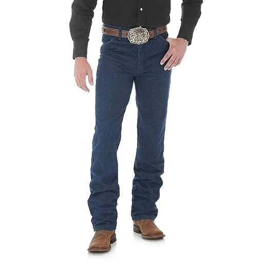 f8755438254 Wrangler Men's Cowboy Cut Slim Fit Jean at Amazon Men's Clothing store