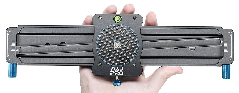 A&J Camera Slider 11' Mini Video Track Slider Panoramic Shot Camera Slider Dolly DSLR Camera, Smart Phone Gopro ANJ INTERNATIONAL ENTERPRISES INC ANJMNISL280