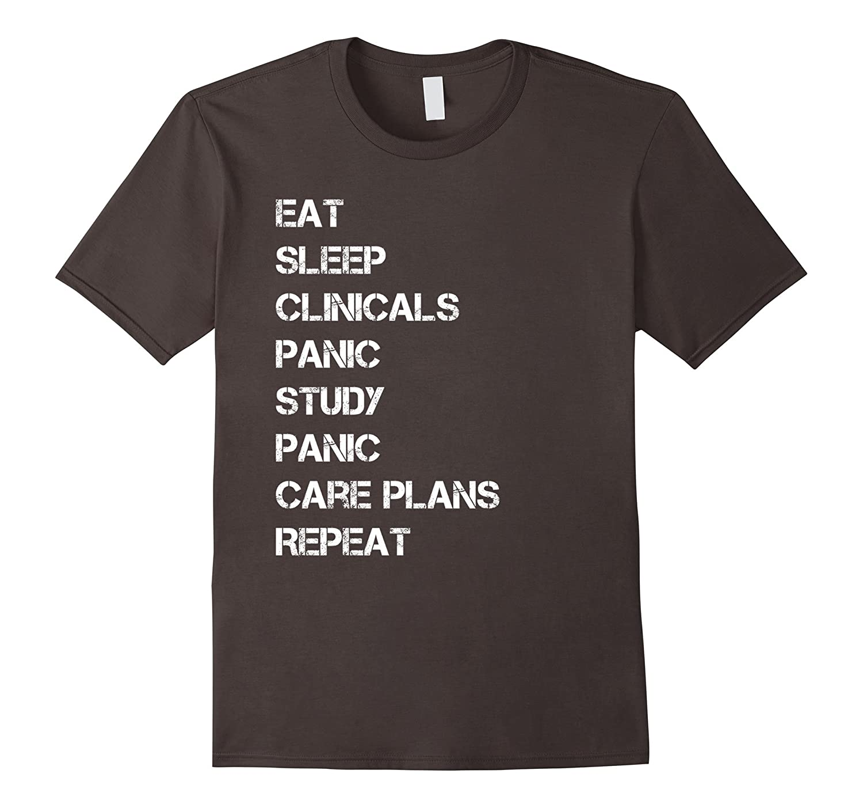 Funny nursing student nurse gift idea T-shirt T Shirt Tee
