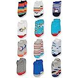 Spotted Zebra Boys' Cotton Ankle Socks