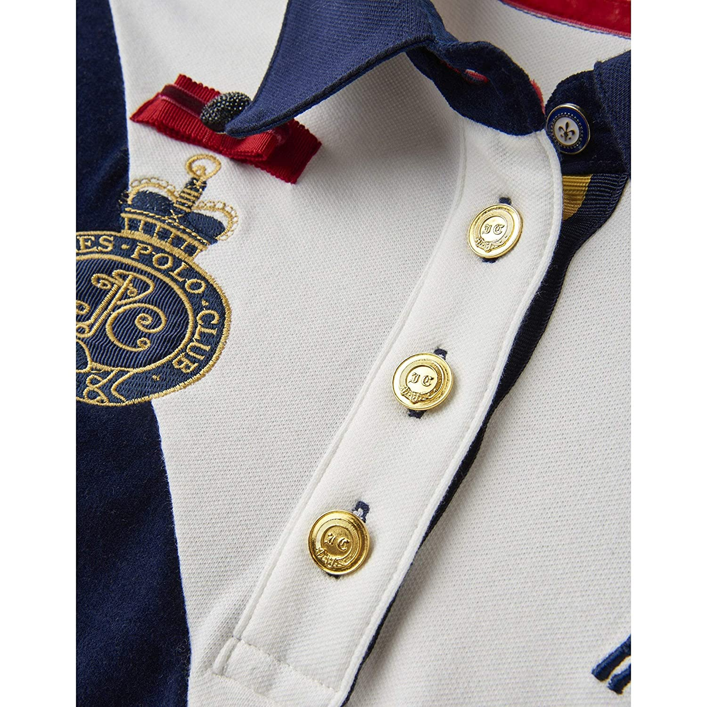 Joules Claredon Polo Shirt SS19 Cream 10