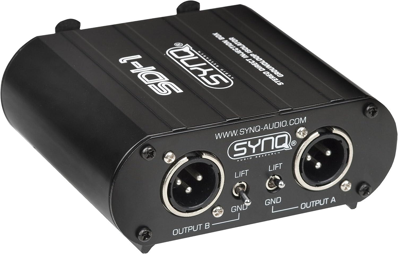 SDI-1 CAJA INYECCION STEREO SYNQ: Amazon.es: Instrumentos musicales