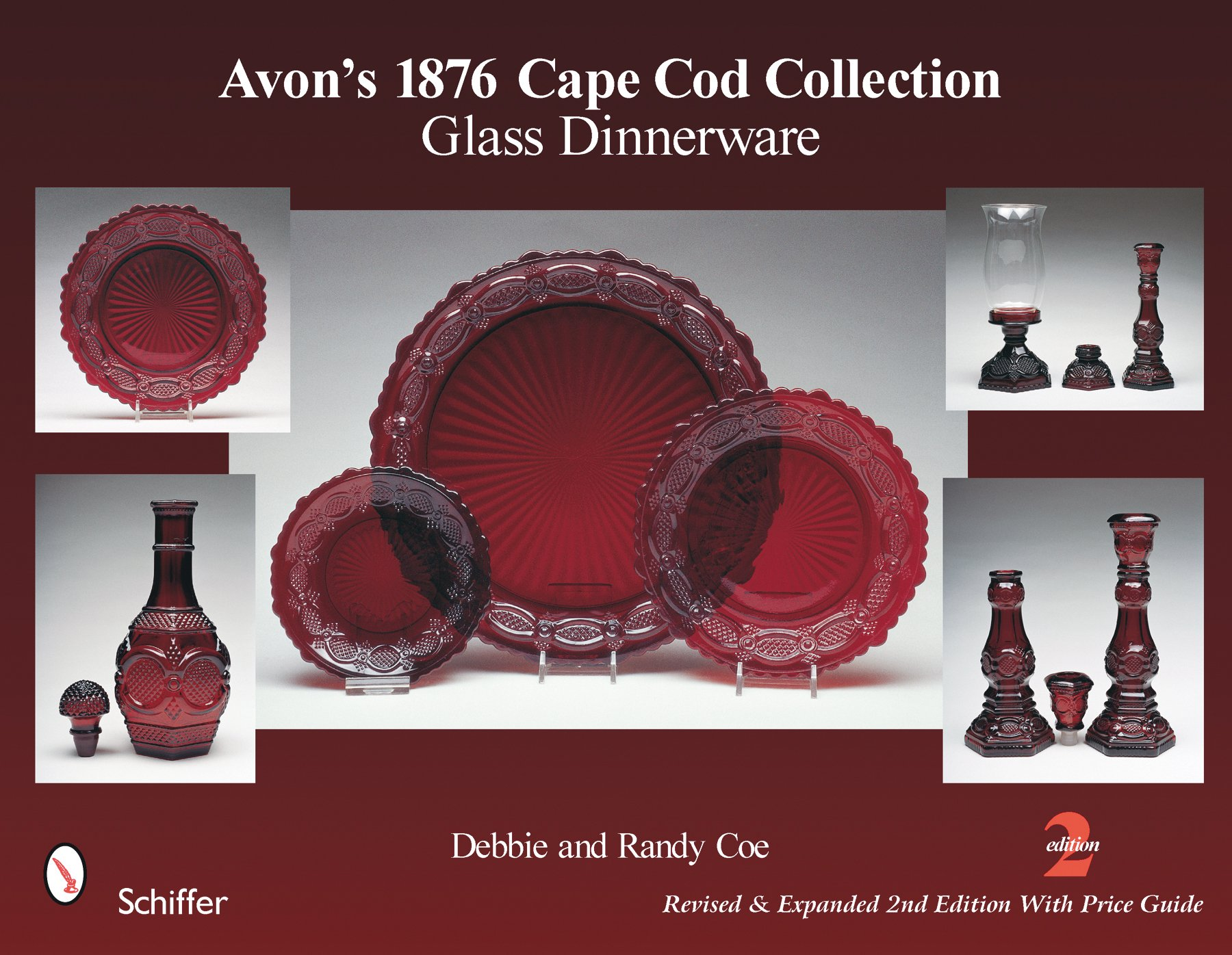 Avons 1876 Cape Cod Collection Glass Dinnerware Debbie Coe Randy