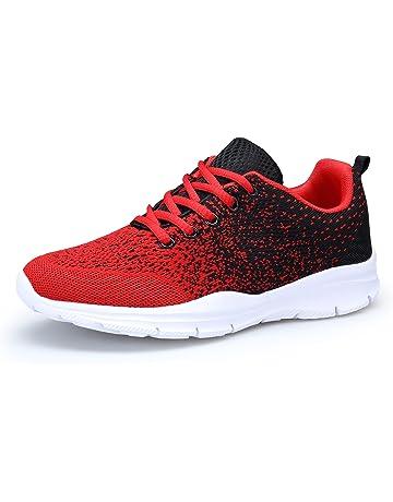 low priced 07fa4 e5748 DAFENP Unisex Uomo Donna Scarpe da Ginnastica Corsa Sportive Fitness  Running Sneakers Basse Interior Casual all