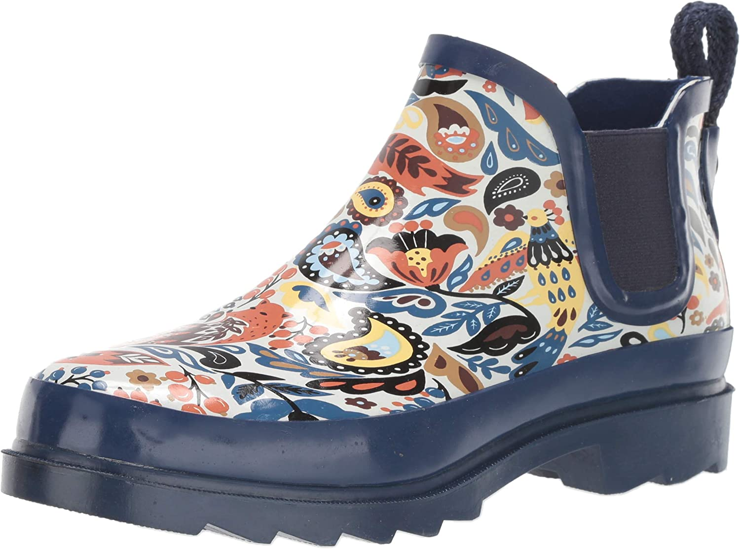 The Sak Women's Sakroots Rhyme Ankle Rainboot Rain Boot