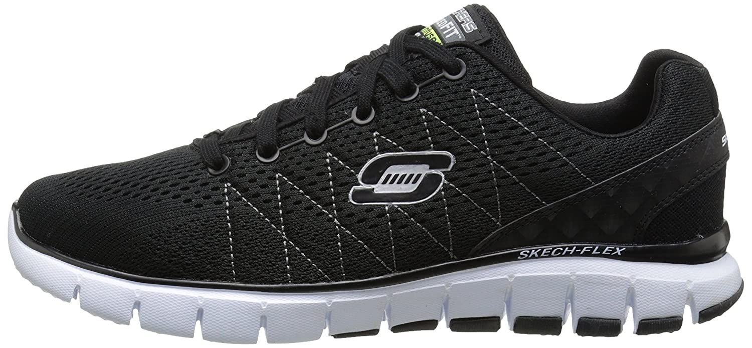 Skechers Skech Flex - Zapatilla de Deporte, Color Negro ...