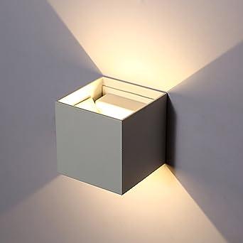 Topmo 12W lampada da parete a LED con angolo di visualizzazione ...