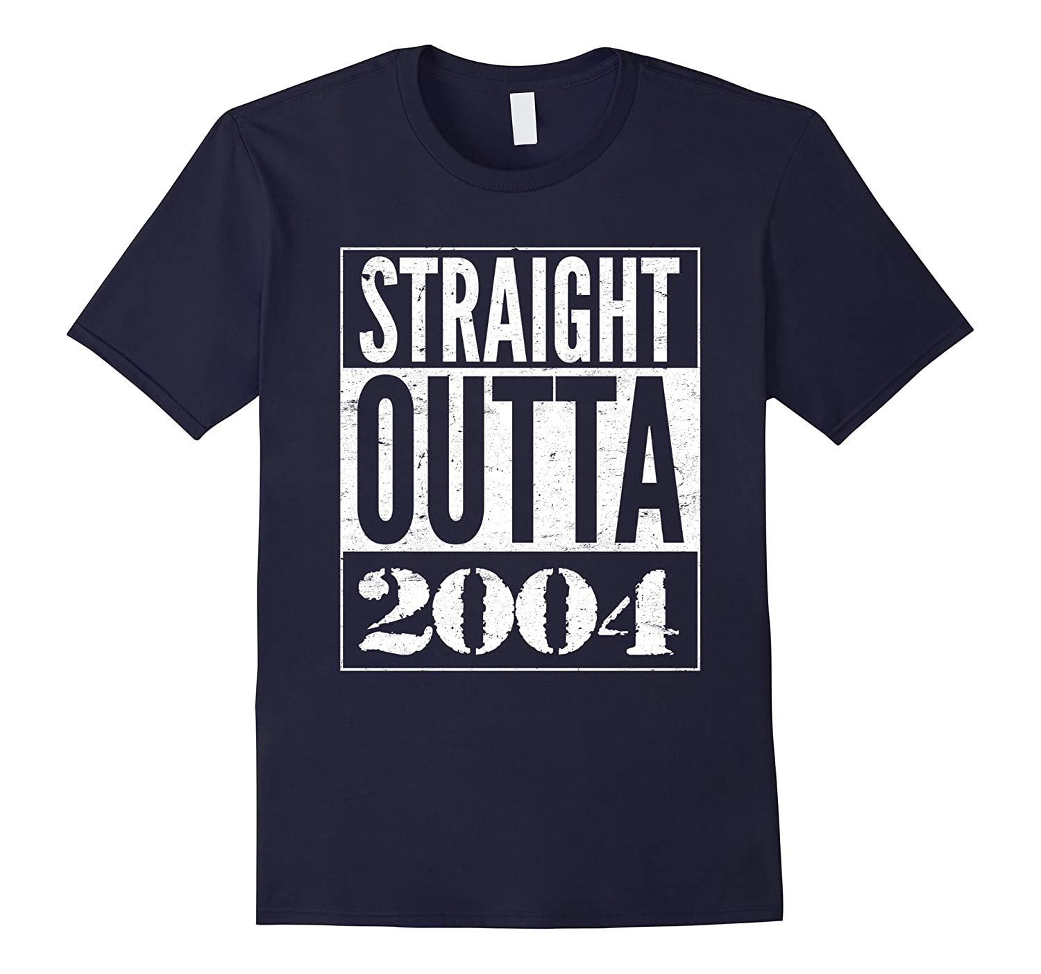 13 Years old Straight Outta 13th Birthday 2004 T-Shirt-TH