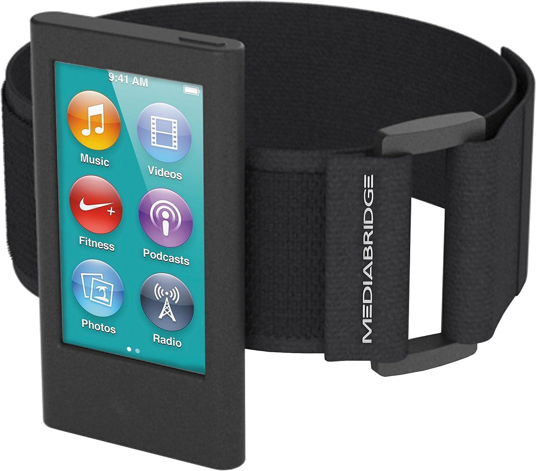 Mediabridge Armband for iPod Nano - 7th Generation / 8th Generation (Black) - Model AB1 (Part# AB1-IPN7-BLACK)