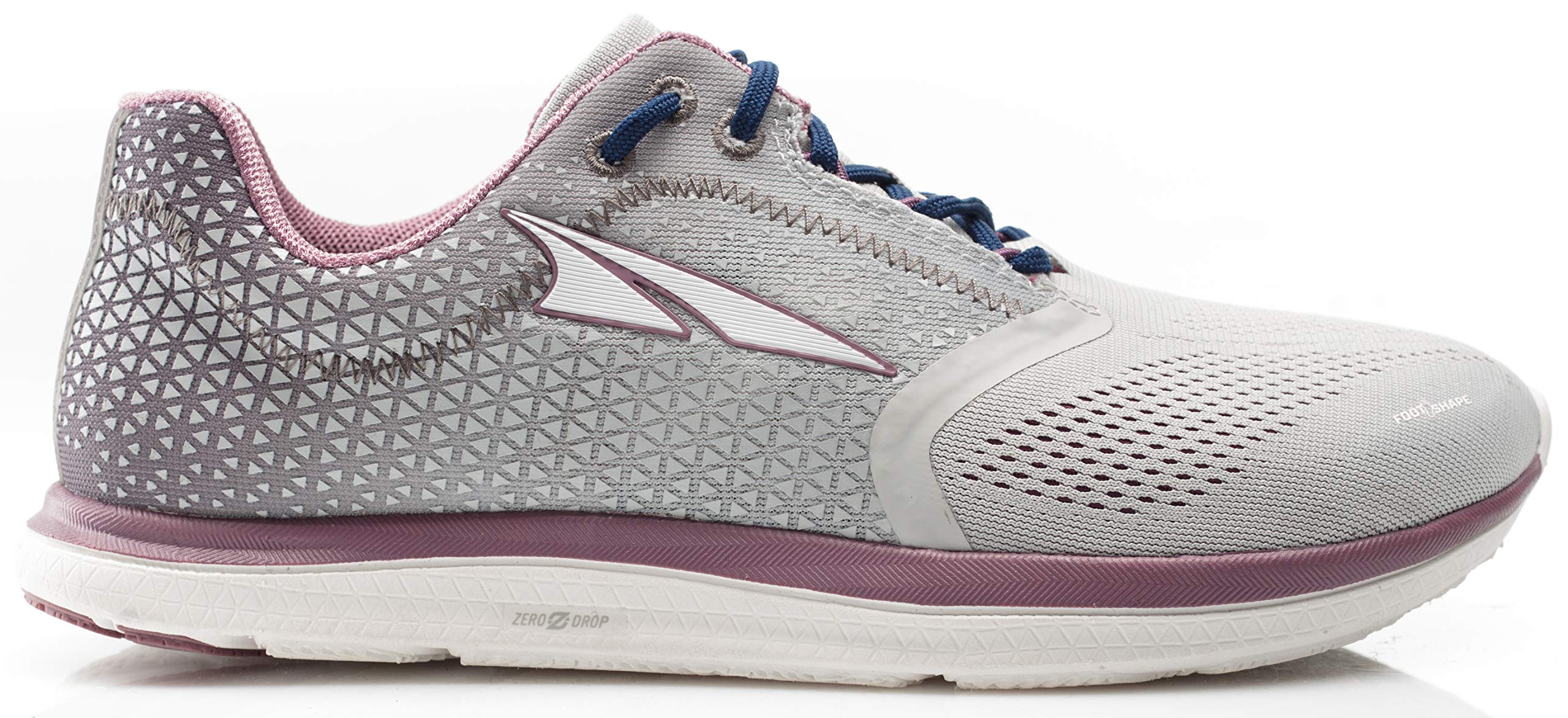 Altra AFW1836P Women's Solstice Road Running Shoe, Gray/Plum - 6 M US by Altra (Image #1)