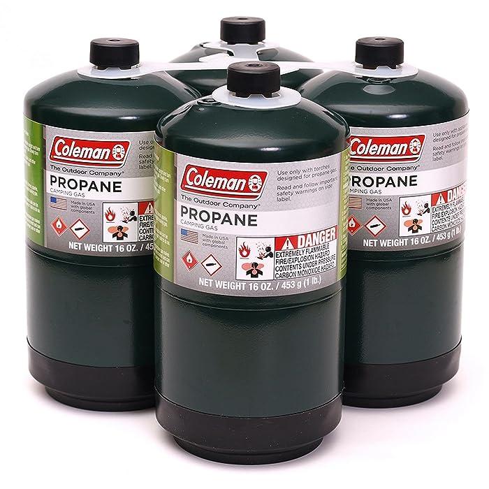 Propane Fuel Cylinders, 4 pk./16 oz