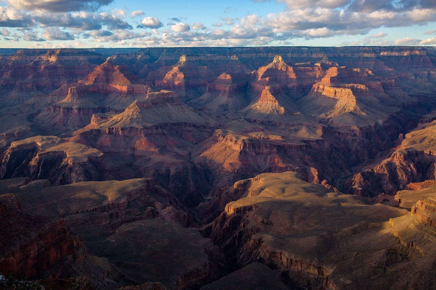 Grand Canyon Photography Art Print - Landscape Picture of South Rim at Sunset Arizona National Parks Southwest Home Decor 5x7 to 30x45