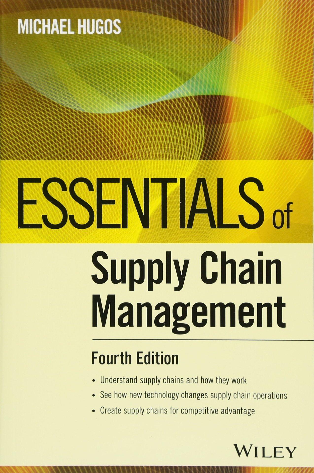 Download Essentials of Supply Chain Management (Essentials Series) pdf epub