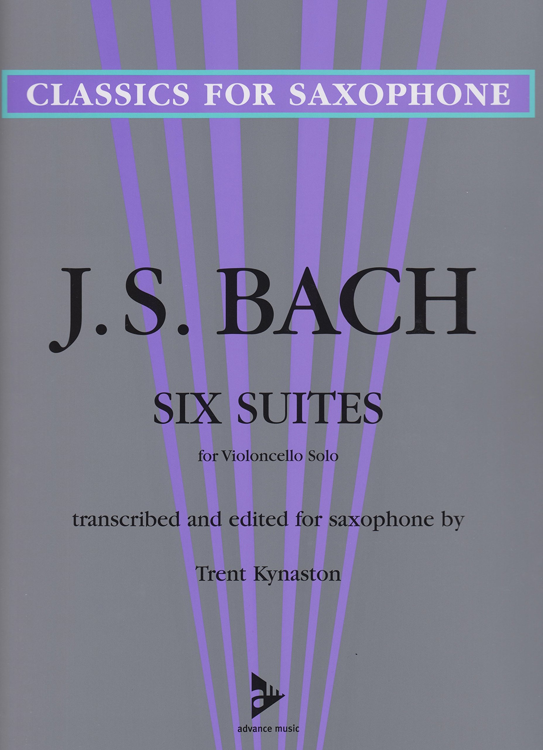 Amazon Com 6 Bach Cello Suites For Solo Saxophone Transcribed By