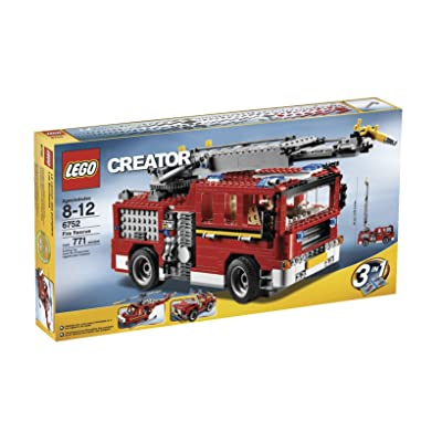 LEGO Creator Fire Rescue (6752): Toys & Games