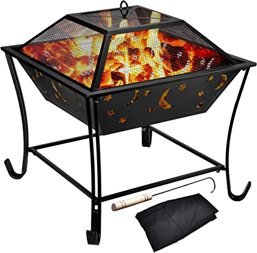 Kodycity Fire Pit Outdoor Wood Burning Pits Portable Table