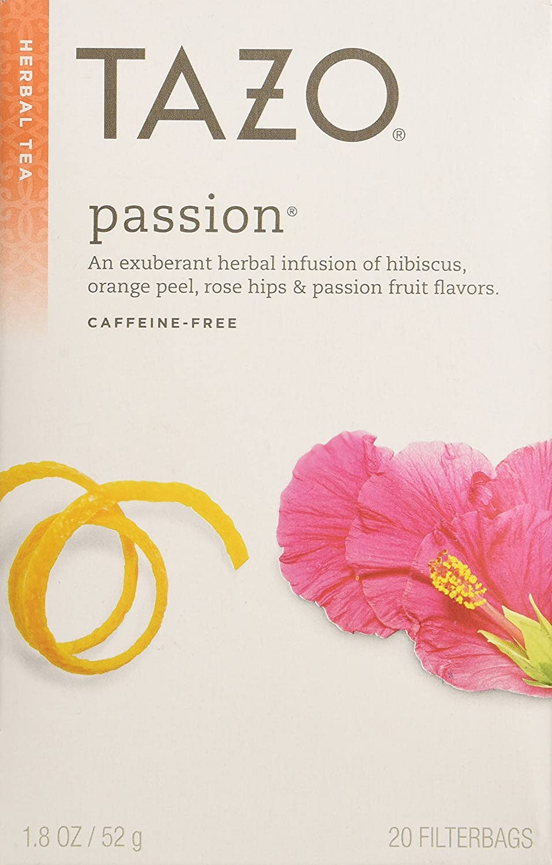 Amazon Tazo Passion Tea 24 Tea Bags Herbal Teas Grocery