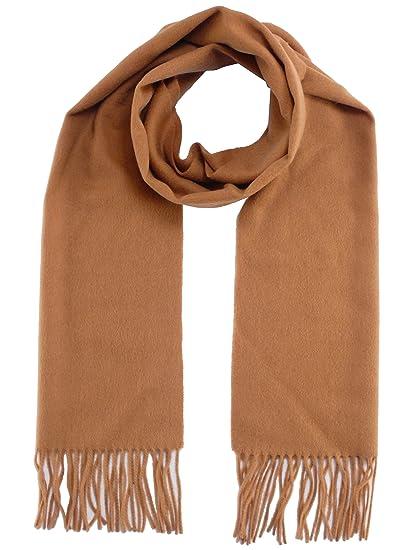 Peter Rutz 9010  eacute charpe en laine et cachemire Couleur unie - beige -  165 b301b47c10a
