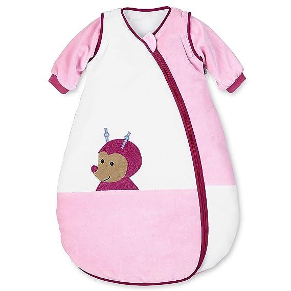 Sterntaler - Saco de dormir con mangas, de tejido velur, diseño de Katharina la